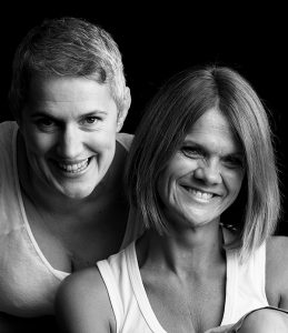 Image shows - Oak Creatives co-founders and directors, Sian Lewis and Saskia Snel.