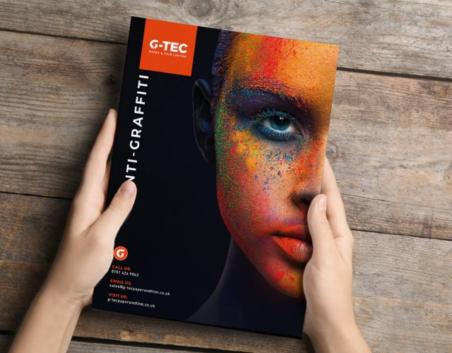 Image shows - Product Brochure for G-Tec. Content creation and design by Oak Creatives.